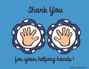 Thank you for your helping hands