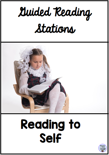 Guided readiing stations - reading to self