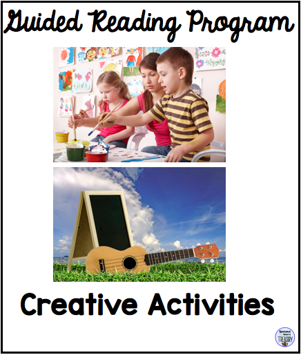 Guided reading program - creative activities