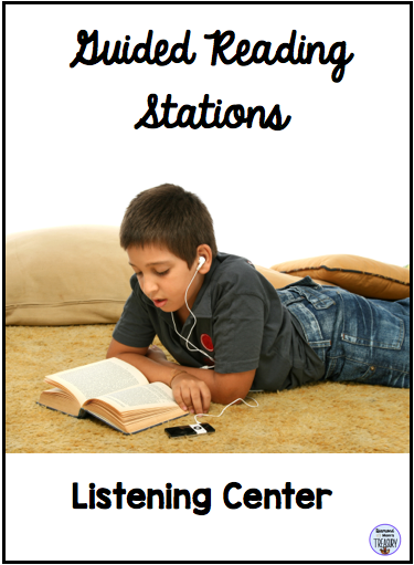 Guided reading stations - listening center