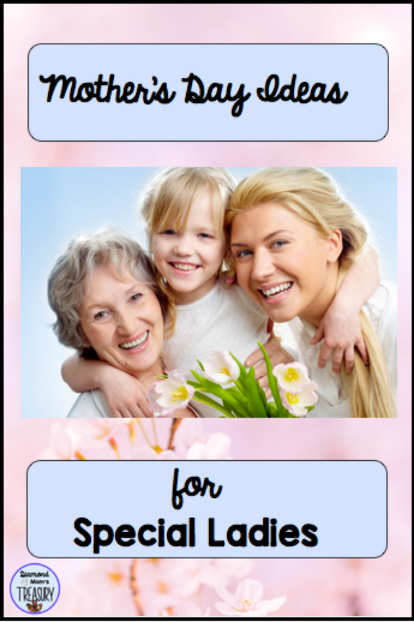 Mother's Day ideas and activties to make the day special for moms and other special ladies.