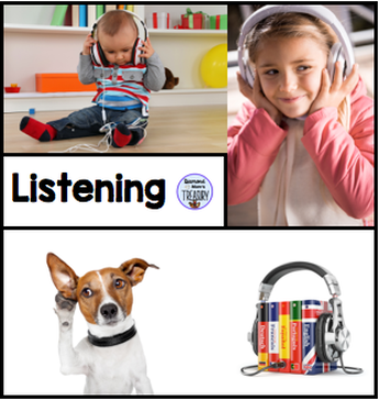 Listening is one of the steps for learning a second language.
