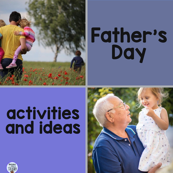 Activities and ideas for Father's Day