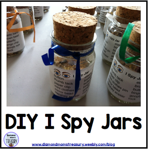DIY I Spy Jars